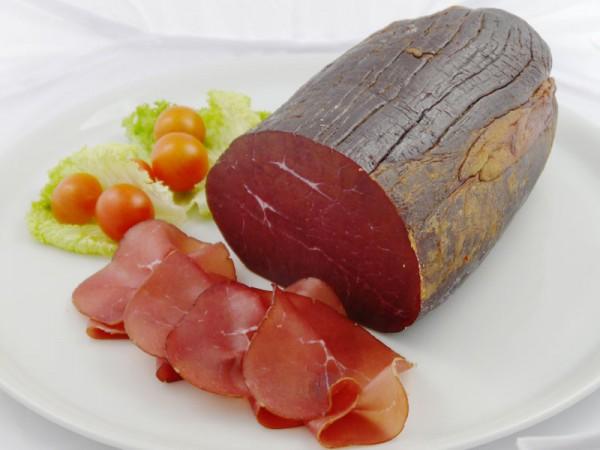 Rauchfleisch, geschnitten